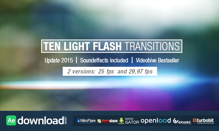 Ten Light Flash Transitions Pack