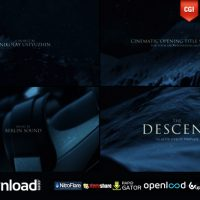 THE DESCENT (CINEMATIC TITLES) – FREE AFTER EFFECTS PROJECT (VIDEOHIVE)