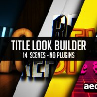 TITLE LOOK BUILDER – VIDEOHIVE