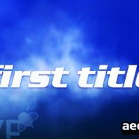 TITLES FLY THROUGH CLOUDS – AFTER EFFECT PROJECTS (VIDEOHIVE)