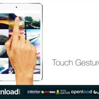 TOUCH GESTURES – FREE AFTER EFFECTS PROJECT (VIDEOHIVE)