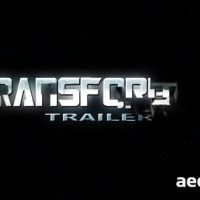 TRANSFORMER TRAILER – AFTER EFFECTS PROJECT (VIDEOHIVE)