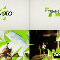 TRIANGLE FLIPBOARD – AFTER EFFECTS PROJECT (VIDEOHIVE)