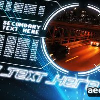 TRON IGNITION – AFTER EFFECTS TEMPLATE (BLUEFX)