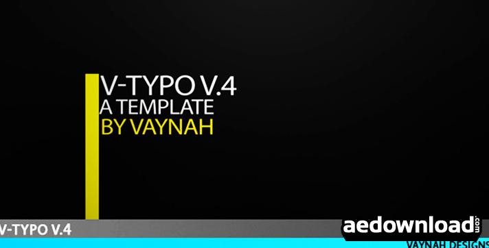 V-Typo V.4 HD Typography