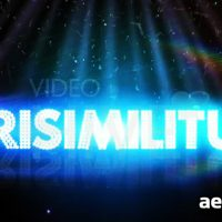 VERISIMILITUDE TEXT LOGO HD – AFTER EFFECTS PROJECT (VIDEOHIVE)