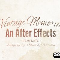 VINTAGE MEMORIES 5456790 – AFTER EFFECTS PROJECT (VIDEOHIVE)