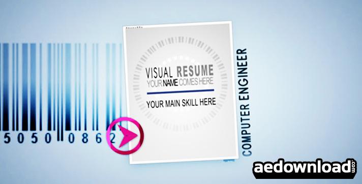 Visual Resume Alpha - Animated Curriculum