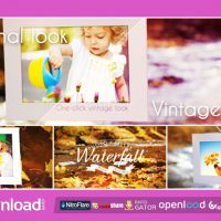 WATERFALL PHOTO GALLERY – FREE DOWNLOAD AFTER EFFECTS PROJECT (VIDEOHIVE)