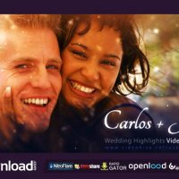 WEDDING HIGHLIGHTS – VIDEO TEMPLATE – FREE AFTER EFFECTS PROJECT (VIDEOHIVE)