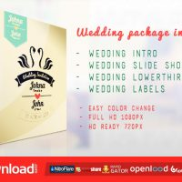 WEDDING PACKAGE – VIDEOHIVE FREE DOWNLOAD