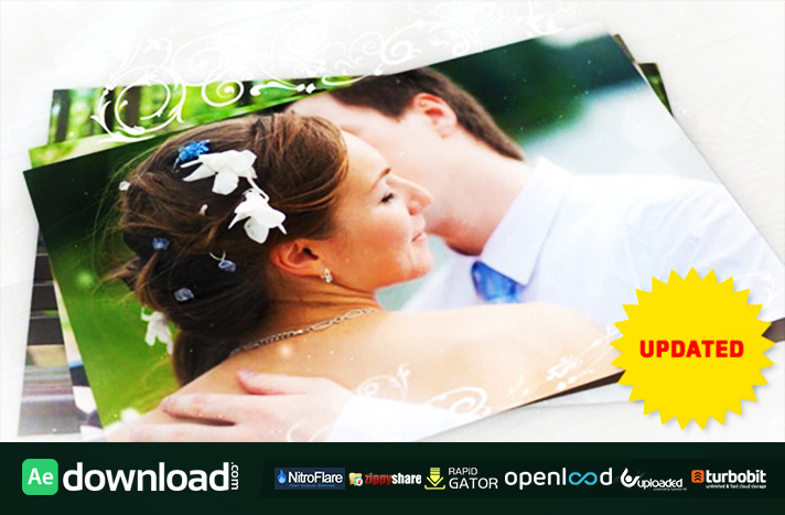 Wedding Photo Gallery with Ornament