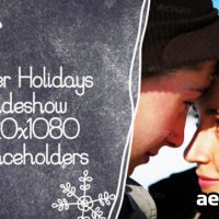 WINTER HOLIDAYS SLIDESHOW – AFTER EFFECTS PROJECT (VIDEOHIVE)