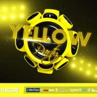 YELLOW PARTY – FREE AFTER EFFECTS PROJECT (VIDEOHIVE)