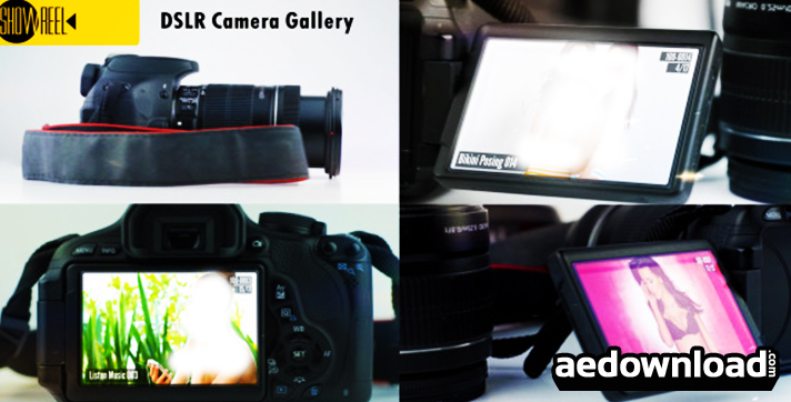 Your Memories on a DSLR Camera