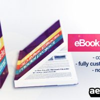 3D BOOK MOCK-UP – PROJECT AFTER EFFECTS (VIDEOHIVE)