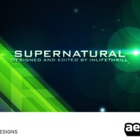 SUPERNATURAL – AFTER EFFECTS PROJECT (VIDEOHIVE)