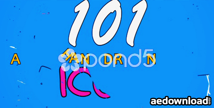 101 HAND DRAWN ICONS