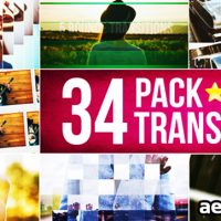34 TRANSITIONS PACK FREE DOWNLOAD – VIDEOHIVE