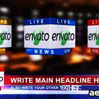 3D NEWS LOGO & LOWER THIRD VER 1.1 – AFTER EFFECTS PROJECT (VIDEOHIVE)