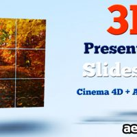 3D PRESENTATION SLIDESHOW – AFTER EFFECTS PROJECT (VIDEOHIVE)