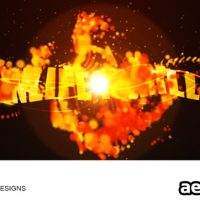 3D- TEXT EVOLUTIONS V3 – FIRE – AFTER EFFECTS PROJECT (VIDEOHIVE)