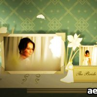 3D WEDDING PHOTO ALBUM – PROJECT FOR AFTER EFFECTS (VIDEOHIVE)
