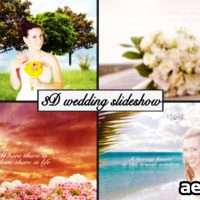 3D WEDDING SLIDESHOW – PROJECT FOR AFTER EFFECTS (VIDEOHIVE)