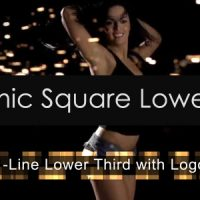 DYNAMIC SQUARE LOWER THIRD – AFTER EFFECTS PROJECT (VIDEOHIVE)