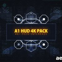 A1 HUD 4K PACK – FREE DOWNLOAD VIDEOHIVE