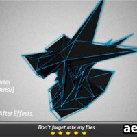 ABSTRACT ENERGY LOGO REVEAL – AFTER EFFECTS PROJECT (VIDEOHIVE)