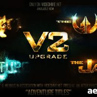 ADVENTURE TITLES – AFTER EFFECTS PROJECT (VIDEOHIVE)