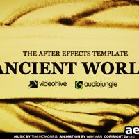 ANCIENT WORLD – PROJECT FOR AFTER EFFECTS (VIDEOHIVE)