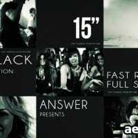BLACK SOLID MOTION – AFTER EFFECTS PROJECT (VIDEOHIVE)