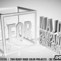 AE CS4 – BOX SERVICE TRAILER – AFTER EFFECTS PROJECT (VIDEOHIVE)