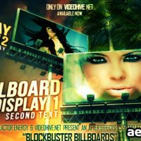 BLOCKBUSTER BILLBOARDS – AFTER EFFECTS PROJECT (VIDEOHIVE)