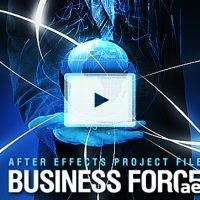 BUSINESS FORCE – PROJECT FOR AFTER EFFECTS (VIDEOHIVE)