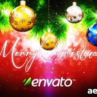 CHRISTMAS & NEW YEAR INTROS – PROJECT FOR AFTER EFFECTS (VIDEOHIVE)