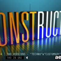 CONSTRUCTOR – AFTER EFFECTS PROJECT (VIDEOHIVE)
