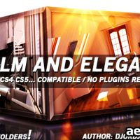CALM AND ELEGANT – AFTER EFFECTS PROJECT (VIDEOHIVE)