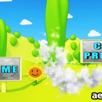 CARTOON PARK 3D ANIMATION – AFTER EFFECTS PROJECT (VIDEOHIVE)