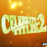 CELEBRITY TITLES 2 – AFTER EFFECTS PROJECT (VIDEOHIVE)