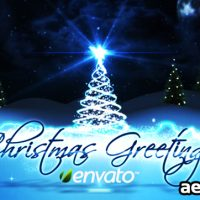 CHRISTMAS GREETINGS – PROJECT FOR AFTER EFFECTS (VIDEOHIVE)