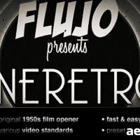CINERETRO – PROJECT FOR AFTER EFFECTS (VIDEOHIVE)