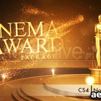 CINEMA AWARDS PACKAGE – PROJECT FOR AFTER EFFECTS (VIDEOHIVE)