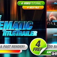 CINEMATIC TITLES 3 IN 1 – AFTER EFFECTS PROJECT (VIDEOHIVE)