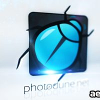CLEAN 3D LOGO FORMATION – PROJECT FOR AFTER EFFECTS (VIDEOHIVE)