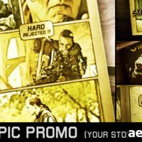 COMIC EPIC PROMO – PROJECT FOR AFTER EFFECTS (VIDEOHIVE)