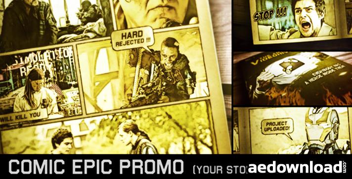 Comic Epic Promo