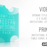 COMPLETE MODERN WEDDING PACK FREE DOWNLOAD – VIDEOHIVE